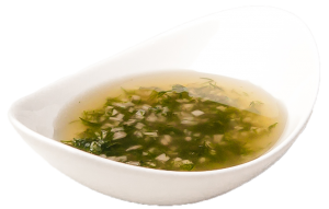 Порция чесночного соуса
